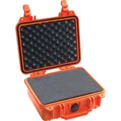 Pelican 1200 Case with Foam - Orange - 1200O
