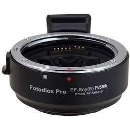 FotodioX Pro Lens Mount Adapter - Canon EOS to Sony NEX (Full Automated Functions)