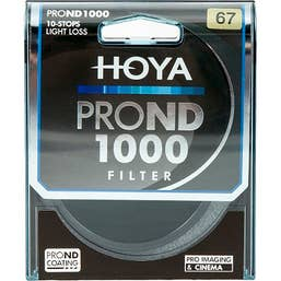 Hoya 67mm ProND1000 Filter