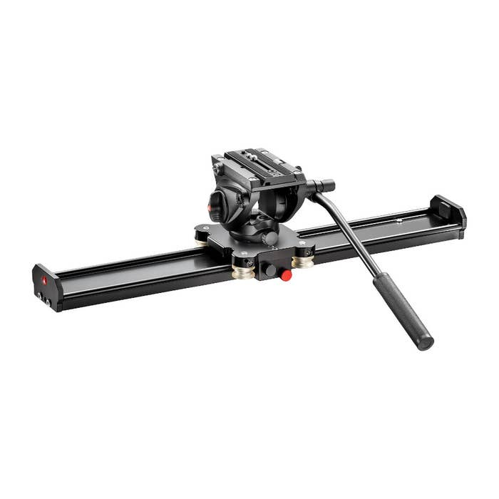 Manfrotto 60cm Slider with MVH500AH Head