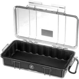 Pelican 1060 Micro Case - Clear with Black Liner