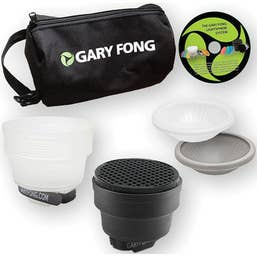 Gary Fong Lightsphere Collapsible Portrait Lighting Kit (LSC-SM-P)
