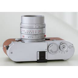 Leica APO-Summicron-M 50mm f/2 ASPH Lens (Silver Anodized)