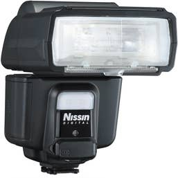Nissin i60A Flash for Sony Cameras with Multi Interface Shoe featuring ADI / P-TTL