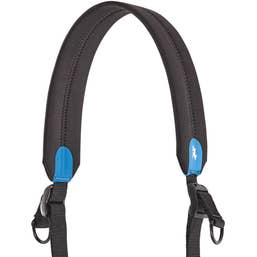 Miggo Universal Padded Camera 2-Way Speed Strap (Black/Blue)