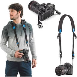 Miggo Agua 45 Stormproof Holster for Large DSLR Cameras (Black-Blue)