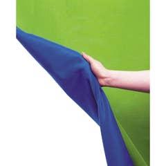 Lastolite Chromakey Background Blue / Green 3x3.5m LASTOLITE