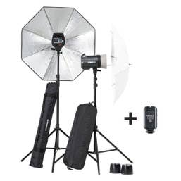 Elinchrom BRX 250/250 Umbrella To Go Set   (01.20748)