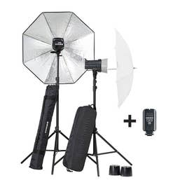 Elinchrom D-Lite RX2/RX2 Umbrella To Go Set   (01.20838)