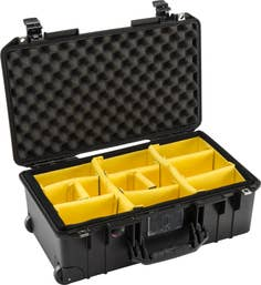 Pelican Air 1535 Case with Dividers - Black  (1535AIRBWD)