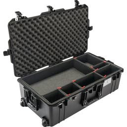 Pelican Air 1615 Case with TrekPak Dividers System - Black   (1615AIRBTREK)