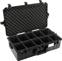 Pelican Air 1605 Case with TrekPak Dividers System - Black   (1605AIRBTREK)