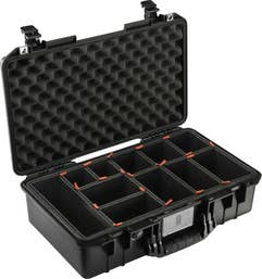 Pelican Air 1525 Case with TrekPak Dividers System - Black