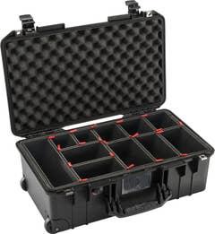 Pelican Air 1535 Case with TrekPak Dividers System - Black (1535AIRBTREK)