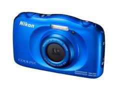 Nikon Coolpix W100 Waterproof Camera  -  Blue  -  VQA011AA