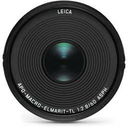 Leica APO-Macro-Elmarit-TL 60mm f/2.8 ASPH - Black Anodised   (11086)