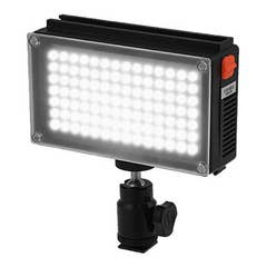 Glanz LED98AS Video/DSLR Light with Li-ion Battery
