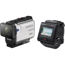 Sony FDR-X3000R Action Camera with Live-View Remote