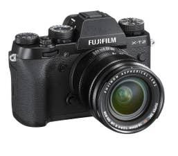 FUJIFILM X-T2 with FUJINON XF18-55mm F2.8-4 R LM OIS LENS