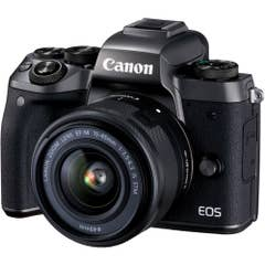 Canon EOS M5 with 15-45mm IS STM Kit