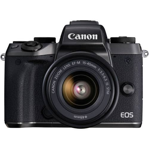 Canon EOS M5 Body Only - Black