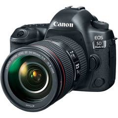Canon EOS 5D Mark IV Premium Kit with EF 24-105 f/4 L IS II  USM Lens