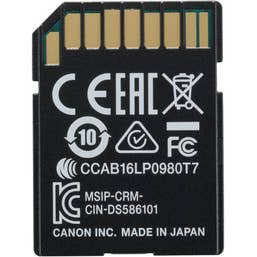 Canon W-E1 SD Card WiFi Adaptor