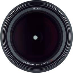 Zeiss Milvus 135mm f/2 ZE Lens for Canon EF