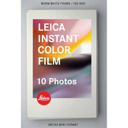 Leica Sofort Color Instant Film Pack (10 Exposures)