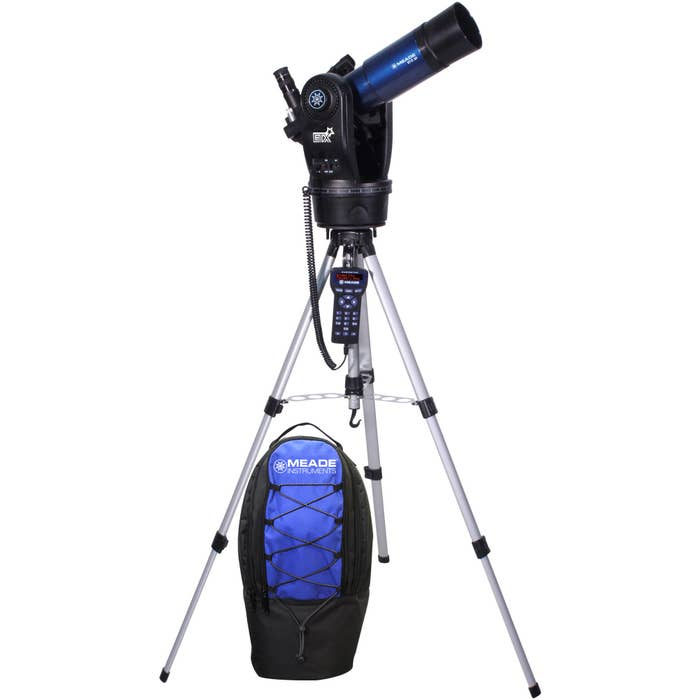 Meade ETX80 Observer Telescope with AudioStar hand controller and Backpack