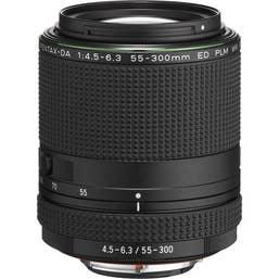 Pentax HD PENTAX-DA 55-300mm f/4.5-6.3 ED PLM WR RE Lens
