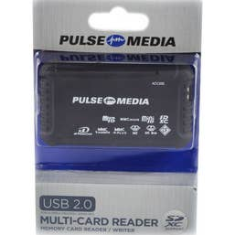 Pulse Multi Card Reader USB 2.0