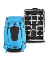 F-Stop Shinn Backpack and M241 Extra Large ICU bundle - Blue