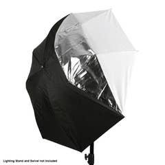 Xlite 110cm 2 in 1 Translucent / White Umbrella