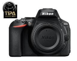 Nikon D5600 DSLR Camera - Body Only  -  VBA500AA