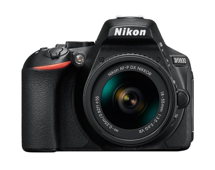 Nikon D5600 DSLR Camera with AF- P 18-55 VR Lens - VBK500XA