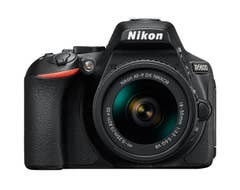 Nikon D5600 DSLR Camera with AF- P 18-55 VR Lens - VBK500XA