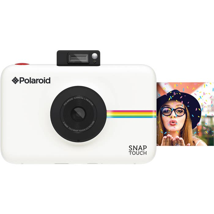 Polaroid Snap Touch Instant Digital Camera - White