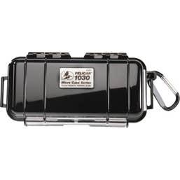 Pelican 1030 Micro Case - Black with Black Liner