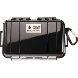 Pelican 1050 Micro Case - Black with Black Liner