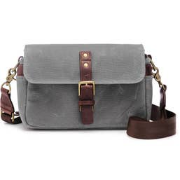 ONA Bowery (Leica Edition) Camera Bag (Canvas, Smoke)