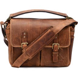 ONA Prince Street Camera Messenger Bag for Leica Cameras (Antique Cognac)