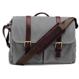 ONA Brixton Camera/Laptop Messenger Bag for Leica (Canvas, Smoke)
