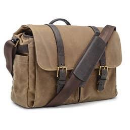 ONA Brixton for Leica Camera/Laptop Messenger Bag (Canvas, Field Tan)