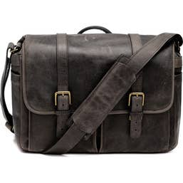 ONA Brixton Camera/Laptop Messenger Bag for Leica (Leather, Dark Truffle)