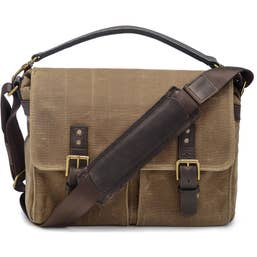 ONA Prince Street Camera Messenger Bag for Leica Cameras (Canvas, Field Tan)