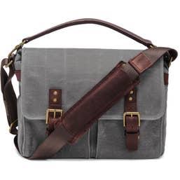 ONA Prince Street Camera Messenger Bag for Leica Cameras (Canvas, Smoke)