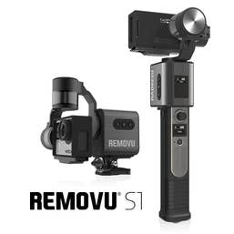 Removu S1 HandHeld / Mountable Gimbal Stabilizer for GoPro Style Action Cams