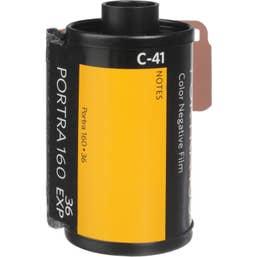 Kodak Professional Portra 160 Color Negative Film (35mm Roll Film, 36 Exposures)
