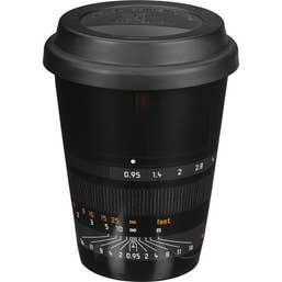 Leica Ceramic Coffee Mug (Noctilux-M 50 Style) - Black